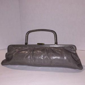 HOBO International grey leather bag